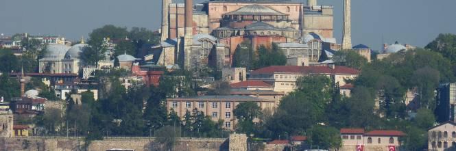 """L'annuncio di Erdogan: """"La basilica di Santa Sofia diventerà una ..."""