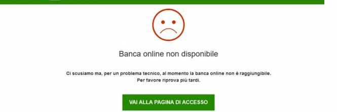 Banca Intesa San Paolo Non Funziona Larea Utenti Dellhome Banking