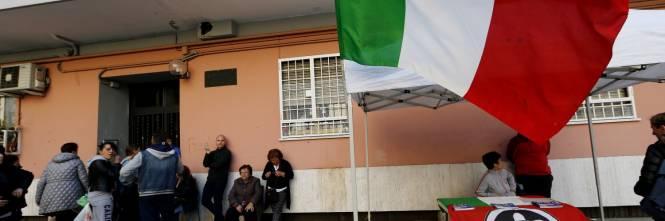 Tensione tra Casapound e antifascisti a Casal Bruciato 1