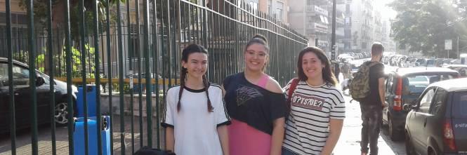 Esame di Maturità: le emozioni degli studenti di Napoli 1