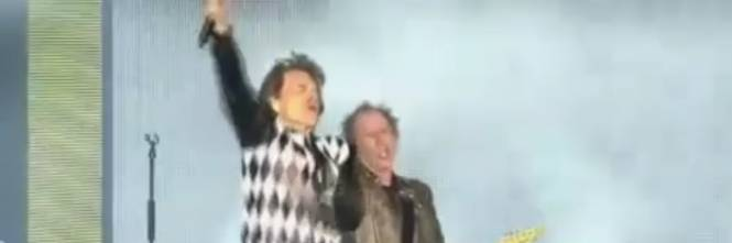 Mick Jagger dopo l'intervento al cuore torna scatenato sul palco