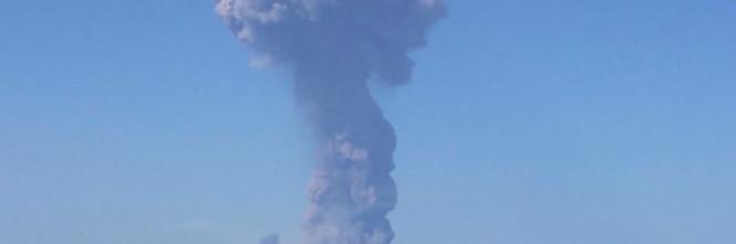 Stromboli, eruzione sull'isola 1