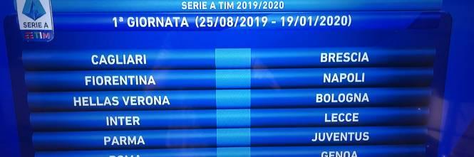 Calendario Lecce Serie A 2020.Serie A Prima Giornata La Juventus Va A Parma Inter Lecce