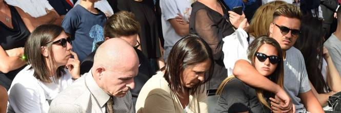 Genova, la commemorazione delle vittime del crollo ponte Morandi 1