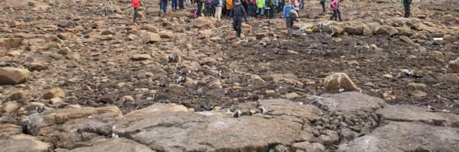 I funerali al primo ghiacciaio scomparso in Islanda 1