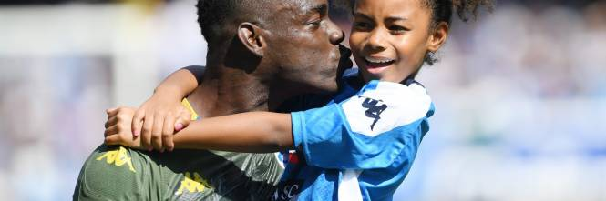 Balotelli al San Paolo con la figlia Pia: le immagini più belle 1