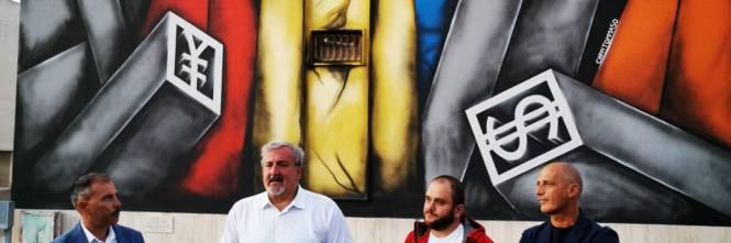 Nardò, inaugurati i murales in memoria di Renata Forte 1