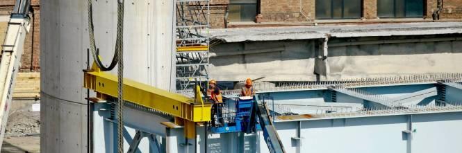 Ponte di Genova, sorgono le nuove pile 5 e 6 1
