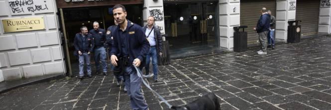 Scritte contro Salvini a Napoli 1