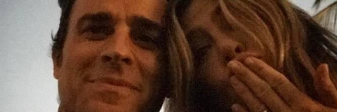 Justin Theroux e Jennifer Aniston, le immagini più belle 1