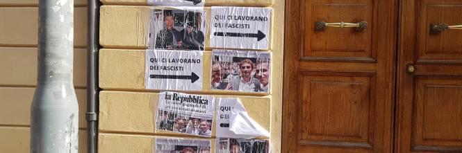 Bologna, il blitz allo studio del consigliere comunale Marco Lisei 1