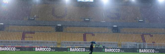 I test sul campo bagnato a Lecce 1
