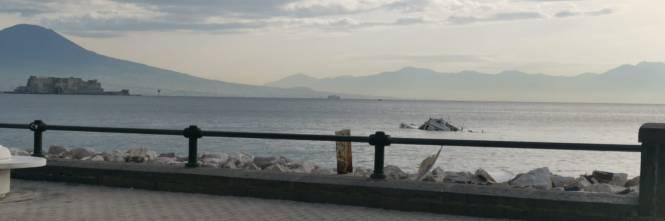 Natante affondato Napoli 2