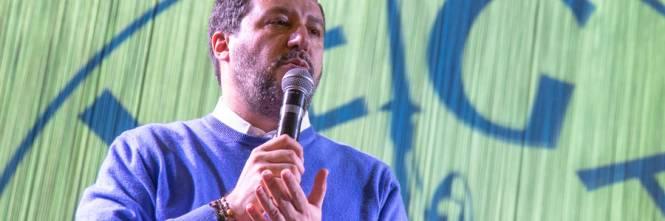 La kermesse della Lega a Palermo: Salvini accolto dai simpatizzanti 1