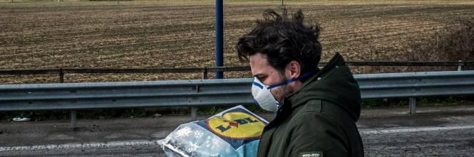 Emergenza coronavirus, scambio di beni al checkpoint di Codogno  1