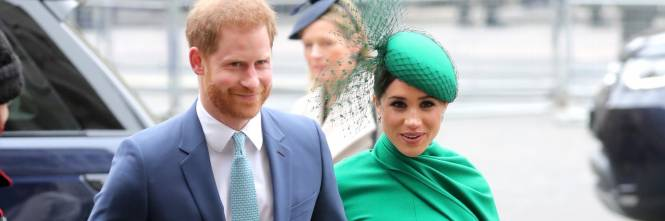 Il Principe Harry e Meghan Markle al Commonwealth Day, foto 1