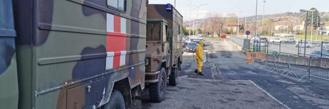 Gli Alpini impiegati in Piemonte per il trasporto dei pazienti 1