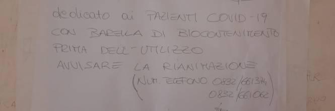 Ascensore Covid con rifiuti ospedalieri tossici 1