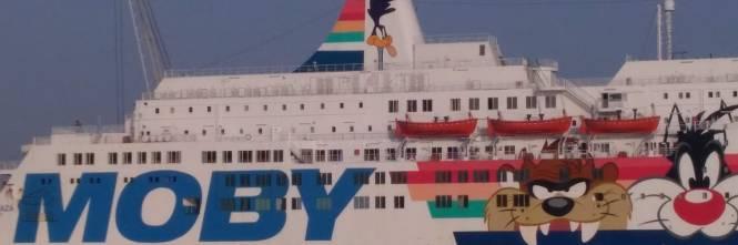 La nave Moby Zaza a Porto Empedocle 1