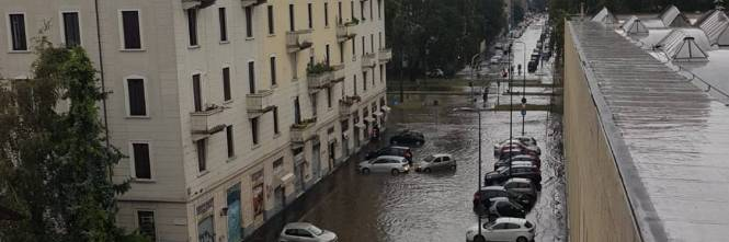 Nubifragio a Milano 1