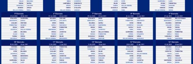 Il Calendario Completo Di Serie A I Big Match Che Ribaltano Tutto Ilgiornale It