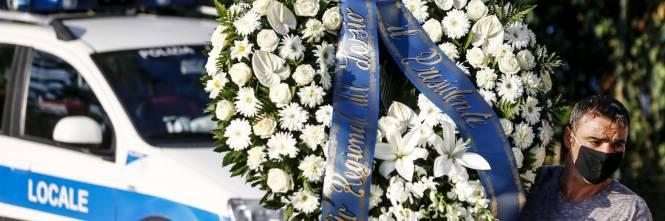 I funerali di Willy al campo sportivo di Paliano 1