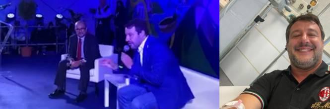 """""""Flebo di cortisone per il mal di schiena"""". Salvini.."""