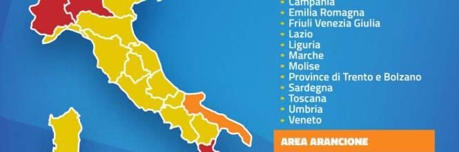 La Folle Mappa Del Covid Oggi Gialli Domani Rossi Ilgiornale It