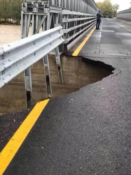 Ponte della Priula: crollo ponte  3