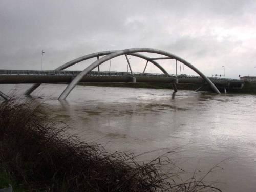 Maltempo in Veneto. Ponte della Priula: crolla il ponte 2