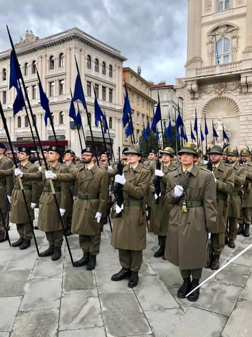 La preparazione della parata del 4 novembre 13