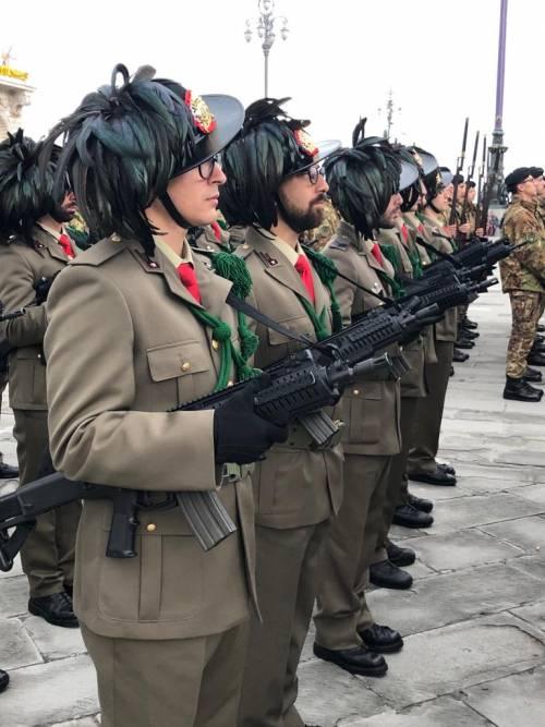 La preparazione della parata del 4 novembre 16
