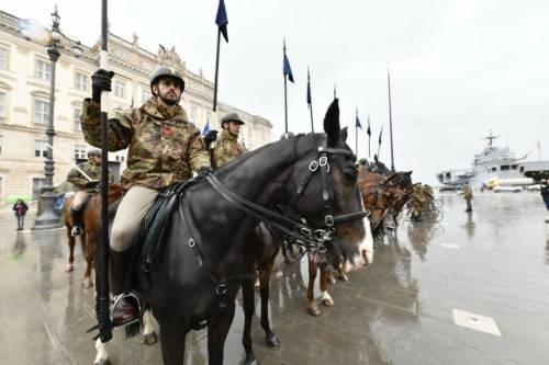 La preparazione della parata del 4 novembre 17