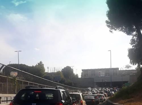 Chiude per tre giorni una rampa della Tangenziale: disagi per gli automobilisti