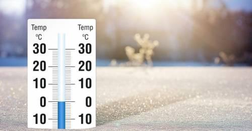 Ruggito invernale a fine mese, nevicate e crollo termico