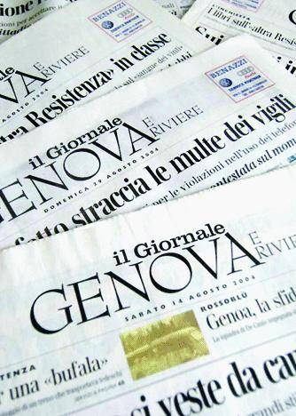 Suggerimenti al nuovo Giornale di Genova