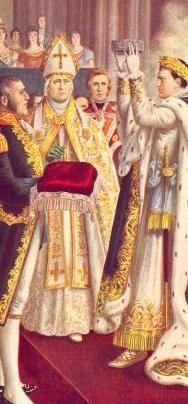 Napoleone incoronato re  in Duomo 200 anni fa
