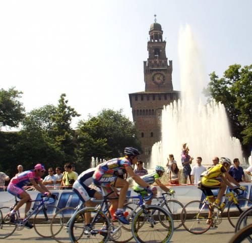 Arriva il Giro Si blocca il traffico