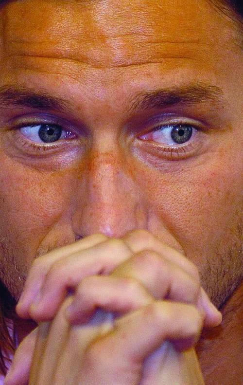 Core de Totti: «Vincere qui? Molto meglio»