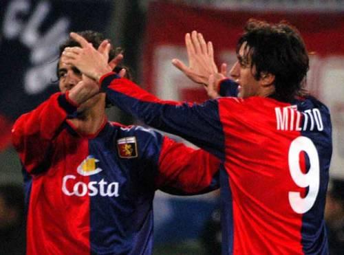 Il Genoa cerca la via del gol con i suoi «gemelli diversi»