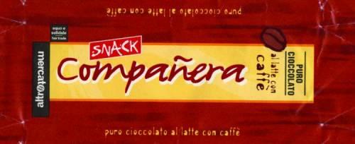 Tursi preferisce mangiare il cioccolato «Compañera»
