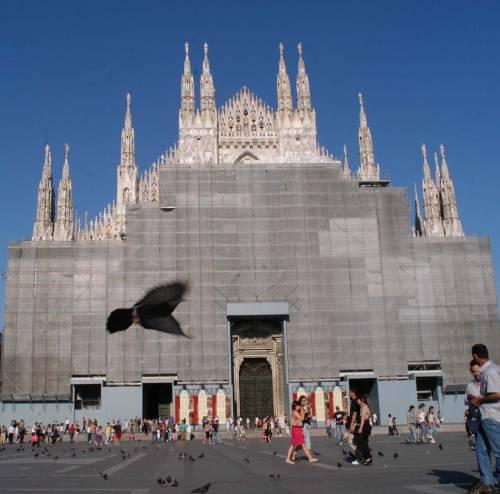 Il Duomo toglie i veli alle guglie