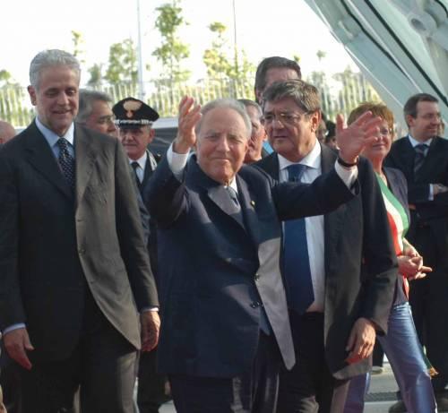 La scorta di Calderoli arresta un ladro romeno