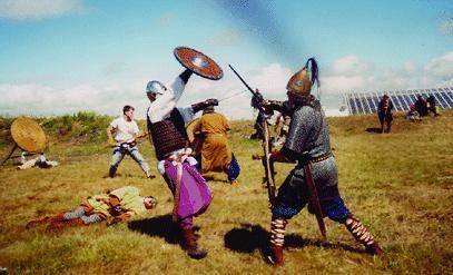 Un tuffo nel Medioevo, tra spade e combattimenti