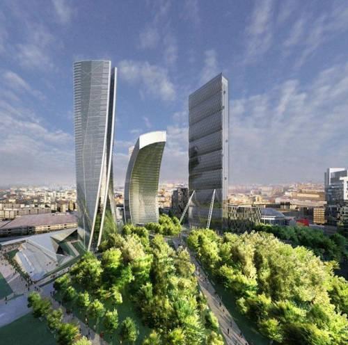 Grattacieli della Fiera Spunta più verde
