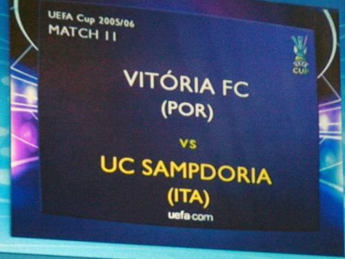 La Rai snobba la partita della Samp contro il Vitoria