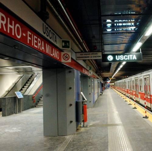 Da oggi si arriva  a Rho in metrò