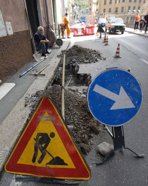 Traffico in tilt a Pontedecimo