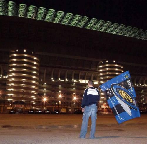Per l'Inter si tifa solo fuori dallo stadio