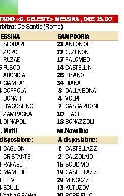 Sampdoria  in emergenza, Palombo finisce in difesa